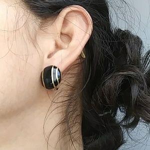 Vintage Monet clip-on earrings